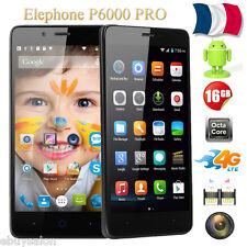 """Elephone P6000 Pro 4G LTE Smartphone Débloqué 16Go+3Go 5,0"""" Android5.1 Dual SIM"""