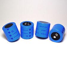 4x BC Long Life Elkos / Elektrolyt-Kondensator, 1200 µF / 200 V, NOS