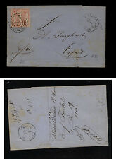 Germany Thurn & Taxis  #30 on folded letter      KL0326