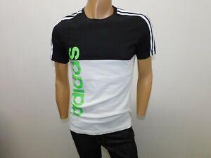 Maglia Adidas Uomo Taglia Size S T-shirt Man Chemise Homme Polo Cotone Bicolore