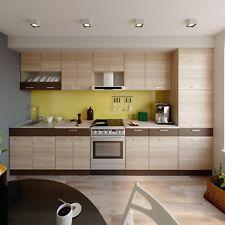 Küche ALINA mit Hochschrank 350 CM Küchenzeile Einbauküche Eiche Sonoma NEU