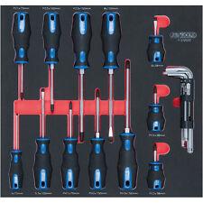 Ks Tools 712.0020 Scs Instertados Juego de Destornilladores 20 Piezas 3-8 Mm,Ph
