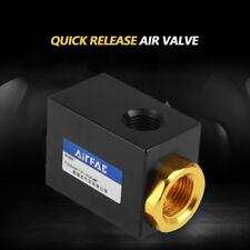 "Pneumatic G1/4"" Inlet Port Air Quick Exhaust Valve Aluminum QE-02"