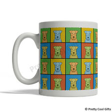 Lakeland Terrier Dog Mug - Cartoon Pop-Art Coffee Tea Cup 11oz Ceramic