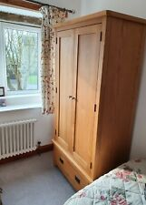 Oak Wardrobe from The Cotswold Company.