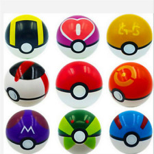 9Pcs Pokemon Pokeball Pop-up Master Great Ultra Gs poke Ball Toy. Made in China.