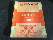 1967 Envoy Series Ac Special Shop Manual Sherwood Wagon Vauxhall Gm Cdn Vauxhall
