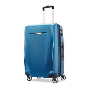 Samsonite Luggage Winfield 3 DLX Medium Spinner Blue and Navy