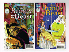 DISNEY'S BEAUTY AND THE BEAST #1 & #2 MARVEL COMICS 1994 NM OB MOVIE NEW STORIES