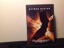 Batman Begins (DVD) Very Good