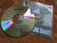 Jill Scott Lovely Day / The Light Hidden Beach Recordings Promo CD Single