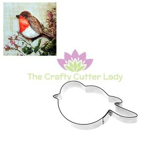 Bird Cutter Robin Cutter Cupcakes Crafts Clay PMC FIMO Cake Decoration