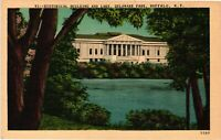 Vintage Postcard - Historical Building & Lake Buffalo New York NY #4503