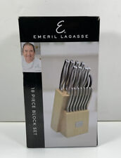 Emeril Lagasse - Knife Block Set, 18 Piece