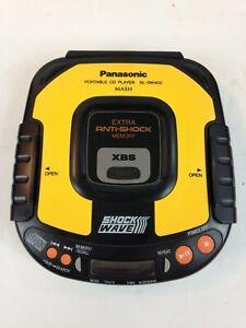 Classic Panasonic Anti-Shock SL-SW405 Portable CD Player XBS Shock Wave, Working