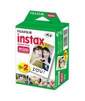 Pellicola istantanea Fujifilm instax mini 7 7s 8 9 10 20 30 50 70 90 pacco 2x10