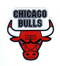 Chicago Bulls NBA Logo Sticker Decal 3 x 2.5 inch New