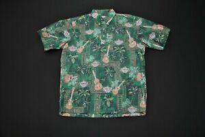 Reyn Spooner Heineken Hawaiian Aloha Shirt Medium M Beer
