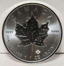 2018 Canada $5 Maple Leaf .9999 Fine Silver Coin - 1 oz Canadian bullion - JY044