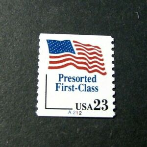 US PNC Stamp Scott# 2605 Flag 1993 P#A212 MNG H83