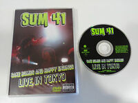 SUM 41 SAKE BOMBS AND HAPPY ENDINGS LIVE IN TOKYO DVD REGION 0 ALL 74 MIN