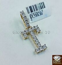 """Real 10k Gold """"T"""" Letter 1.5"""" Initial Alphabet Charm/Pendant with Real Diamonds."""