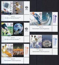 Brd Postfrisch ** 2x Minr 2382-2386 Briefmarken