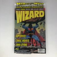 VINTAGE WIZARD COMIC GUIDE #47 July 1995 Superman Polybag