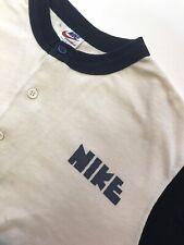 Vintage Baseball Nike Block Logo T Shirt Made USA M / L