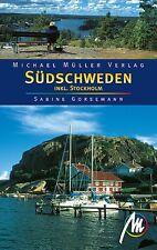 Schweden SÜDSCHWEDEN mit Stockholm Michael Müller Reiseführer 08 Reisehandbuch