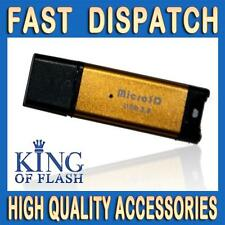 USB Reader for Micro SD Card Golden - Supports Up To 32GB Micro SD HC Card