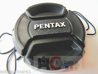 52mm Front Lens Cap For PENTAX K10d K100d K200D K20d  Kepper Snap-on Cover 52 mm