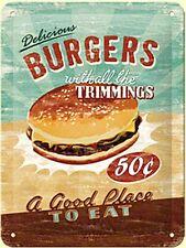 Insegna in Latta, Hamburger Burger, Cod. na 2015