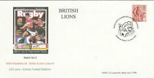 NSW WARATAHS v BRITISH & IRISH LIONS 2001 RUGBY COMMEMORATIVE COVER