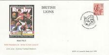 NSW WARATAHS v BRITISH & IRISH LIONS 2001 RUGBY COMMEMORATIVE COVER