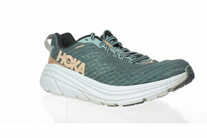 Hoka One One Womens Rincon Lead/Pink Sand Running Shoes Size 8 (1430437)