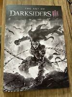 *NEW* The Art of Darksiders 3 III BOOK from the CE - Great Shape