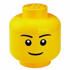 Lego Storage Head Brick Container Boy Small