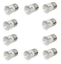 10 x Lamp Bulb Socket Converters Bayonet To Screw Adapters light bulbs B22 E27