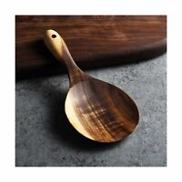 Utensils Cookware Rice Shovel For Burnished Non Stick Wooden Paddle Spoons LI