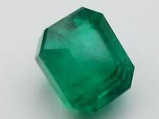 2.3 Carats Pansheri Emerald -Excellent 10X Loupe Clean Gemstone