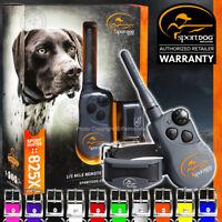 SportDOG SD-825X Remote 1/2 Mile Collar Dog Trainer SportHunter Free Color Strap