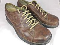 "MERRELL ""World Piece"" Dark Brown Leather Shoes Men's Size 10"