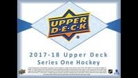 2017-18 Upper Deck Series One Hockey Cards Pick From List (Includes Young Guns)
