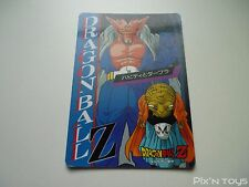 Carte originale Dragon Ball Z Banpresto Jumbo Roulette N°22 / 1994 Made in Japan