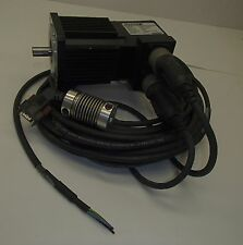 Reliance Electric Servo Motor  H-3007-N-H00AA   Pn 6131-01-802 NEMA 34 W/Cables