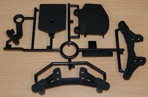 Tamiya 58636 TA07 Pro/TA07R/TA07RR, 9115445/19115445 N Parts (Damper Stays), NIP