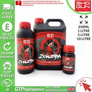 Shogun Zenzym - 250ml / 1L / 5L / 10L Litre - Biofilm & Irrigiation Protection