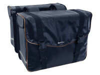 Double bag Fast Rider Rilo made of Tarpauline (=LKW Plane) blue 40 Litre