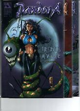 Pandora Devil's Advocate #1 2 & 3 Complete Set - Avatar - sexy bad girl - (-NM)